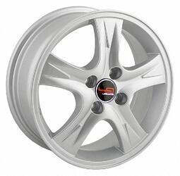 Автомобильный диск Литой LegeArtis NS119 6x15 4/100 ET 50 DIA 60,1 Sil