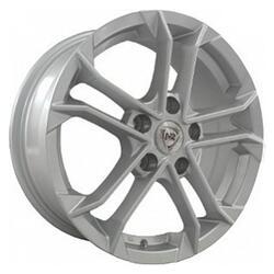 Автомобильный диск Литой NZ SH655 6,5x15 4/100 ET 40 DIA 56,6 Sil