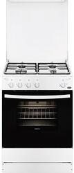 Газовая плита Zanussi ZCG961011W белый, черный