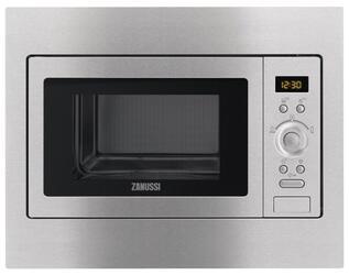 Встраиваемая микроволновая печь Zanussi ZSC25259XA серебристый
