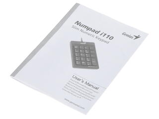 Клавиатура Genius NumPad i110