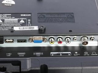 "19"" (48 см)  LED-телевизор DEXP H19B3000E черный"