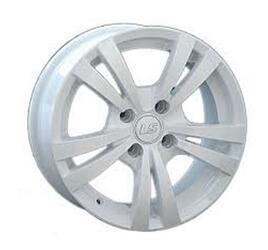 Автомобильный диск Литой LS NG231 6x14 4/98 ET 35 DIA 58,6 White