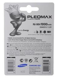Аккумулятор PLEOMAX HR03-2BL 1000 мАч