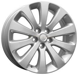 Автомобильный диск Литой K&K КС476 7x17 5/105 ET 42 DIA 56,6 Сильвер