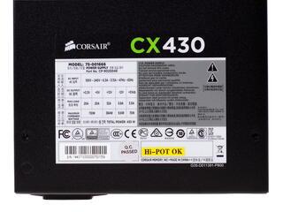 Блок питания Corsair CX 430W [CP-9020046-EU]