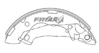 Тормозные колодки Hankook Frixa FLH013