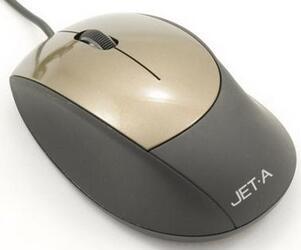 Мышь проводная Jet.A Black Style OM-U14