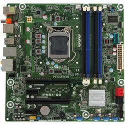 Плата Pegatron  LGA1155 IPM6X-GS P67 4xDDR3-1333 PCI-E DSub 8ch 5xSATA 2xUSB3.0 GLAN mATX
