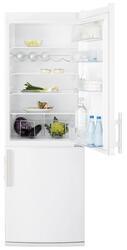Холодильник с морозильником Electrolux EN3400AOW белый