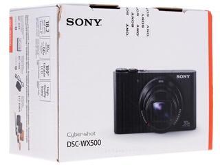 Компактная камера Sony Cyber-shot DSC-WX500R красный