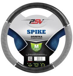 Оплетка на руль PSV SPIKE M черный