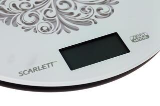 Кухонные весы Scarlett SC-1215 белый