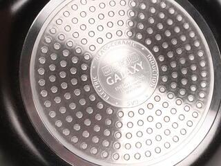 Вок-сковорода Galaxy GL 9824 черный