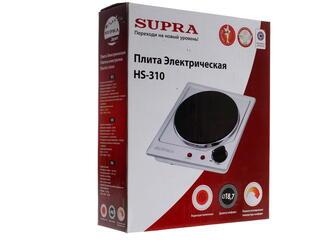 Плитка электрическая Supra HS-310 серебристый