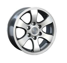 Автомобильный диск Литой Replay TY2 7,5x17 6/139,7 ET 25 DIA 106,1 GMF