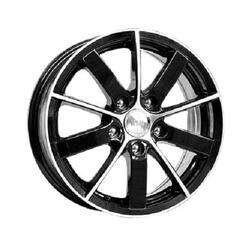 Автомобильный диск Литой K&K Питер AL 6x15 5/100 ET 38 DIA 57,1 Алмаз черный