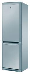 Холодильник Indesit NBA 18 S Серебристый