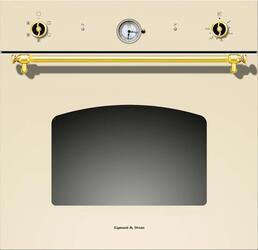 Электрический духовой шкаф Zigmund & Shtain EN 68.511 X/T