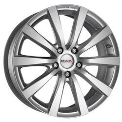 Автомобильный диск Литой MAK Iguan 7x17 5/100 ET 50 DIA 54,1 Silver