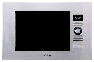 Встраиваемая микроволновая печь Korting KMI 720 X серебристый