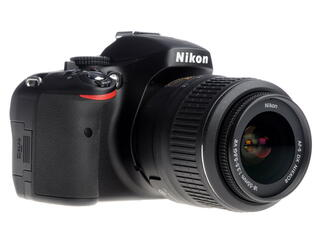 Зеркальная камера Nikon D5100 Kit 18-55mm VR черный
