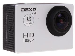 Экшн видеокамера DEXP S-50 серебристый