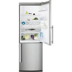Холодильник с морозильником Electrolux EN3241AOX серебристый