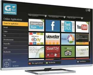 """55"""" (139 см)  LED-телевизор Grundig 55VLE9481SR серебристый"""