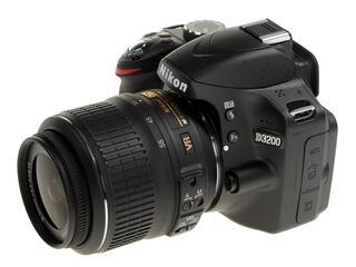 Зеркальная камера Nikon D3200 Kit 18-55mm VR черный