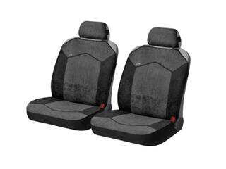 Накидка на сиденье H&R GOTHIC FRONT т.серый