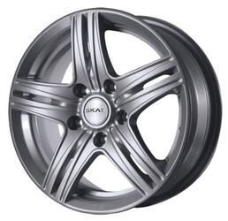 Автомобильный диск Литой Скад City 6x15 5/114,3 ET 39 DIA 60,1 Алмаз платина