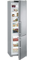Холодильник с морозильником Liebherr CBPesf 4013-21 серебристый