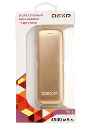 Портативный аккумулятор DEXP SD 4500 золотистый