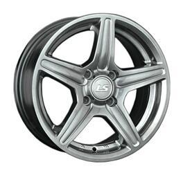 Автомобильный диск литой LS 345 7x16 4/108 ET 27 DIA 65,1 GMF
