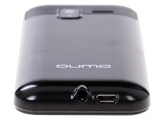 Сотовый телефон QUMO Push 250 Dual черный