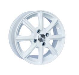 Автомобильный диск литой Скад Монако 5,5x14 4/112 ET 38 DIA 58,6 белый