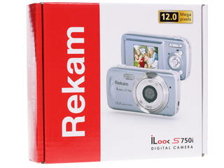 Компактная камера Rekam iLook S750i серый