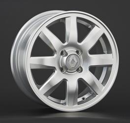 Автомобильный диск литой Replay RN34 6x15 4/112 ET 60 DIA 110,1 Sil