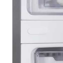 Холодильник с морозильником LG GA-B489YMKZ серебристый