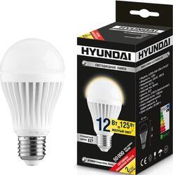 Лампа светодиодная Hyundai LED02-A60-12W-2.7K-E27