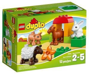 Конструктор LEGO DUPLO Животные на ферме
