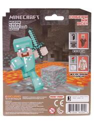 Фигурка персонажа Minecraft Бриллиантовый Стив