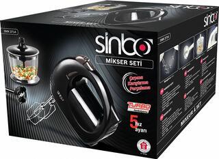 Миксер Sinbo SMX 2714 черный