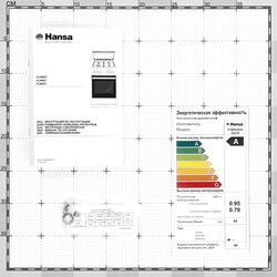 Комбинированная плита Hansa FCMW54040 белый