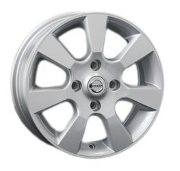 Автомобильный диск Литой Replay NS23 5,5x15 4/114,3 ET 40 DIA 66,1 Sil