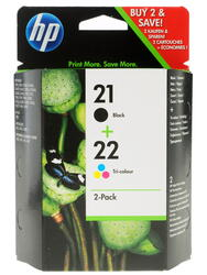 Набор картриджей HP 21/22 (SD367AE)
