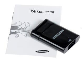 Переходник Samsung EPL-1PL0BEG USB A - S30-pin черный