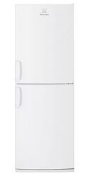 Холодильник с морозильником Electrolux EN3241AOW белый