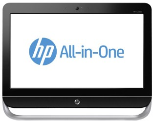 "20.1"" Моноблок HP 3520 D5S54EA (HD+) G2030 (3.0)/4GB/1TB/Intel HD/DVD-RW/WiFi/Cam/Kb+M/Win8"